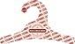 Promoção Comprou Ganhou -  Cabide Personalizado com a sua logo / Infantil / Natural / CS100  - Ganhe a Tag Natural 1000 unidades personalizado - Imagem 2