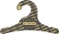 Promoção Comprou Ganhou: Cabide Personalizado com sua logo / Infantil / Preto H / CS100 Ganhe a Tag Natural 1000 unidades personalizado - Imagem 2