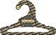 Promoção Comprou Ganhou: Cabide Personalizado com sua logo / Infantil Aberto / Preto H / CS101 Ganhe a Tag Natural 1000 unidades personalizado - Imagem 2