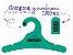Promoção Comprou Ganhou: Cabide Personalizado com sua logo / Juvenil / Color Face / CS102 Ganhe a Tag Color Face 1000 unidades personalizado - Imagem 9