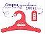 Promoção Comprou Ganhou: Cabide Personalizado com sua logo / Juvenil / Color Face / CS102 Ganhe a Tag Color Face 1000 unidades personalizado - Imagem 1