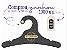 Promoção Comprou Ganhou: Cabide Personalizado com sua logo / Juvenil / Preto H / CS102 Ganhe a Tag Natural 1000 unidades personalizado - Imagem 1