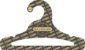 Promoção Comprou Ganhou: Cabide Personalizado com sua logo / Juvenil Aberto / Preto H / CS103 -  Ganhe a Tag Natural 1000 unidades personalizado - Imagem 4