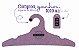 Promoção Comprou Ganhou: Cabide Personalizado com sua logo / Adulto / Color Face / CS104 -  Ganhe a Tag Color Face 1000 unidades personalizado - Imagem 1