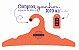 Promoção Comprou Ganhou: Cabide Personalizado com sua logo / Adulto / Color Face / CS104 -  Ganhe a Tag Color Face 1000 unidades personalizado - Imagem 5
