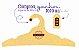 Promoção Comprou Ganhou: Cabide Personalizado com sua logo / Adulto / Color Face / CS104 -  Ganhe a Tag Color Face 1000 unidades personalizado - Imagem 2