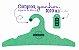 Promoção Comprou Ganhou: Cabide Personalizado com sua logo / Adulto / Color Face / CS104 -  Ganhe a Tag Color Face 1000 unidades personalizado - Imagem 7