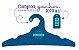 Promoção Comprou Ganhou: Cabide Personalizado com sua logo / Adulto / Color Face / CS104 -  Ganhe a Tag Color Face 1000 unidades personalizado - Imagem 4