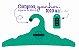 Promoção Comprou Ganhou: Cabide Personalizado com sua logo / Adulto / Color Face / CS104 -  Ganhe a Tag Color Face 1000 unidades personalizado - Imagem 8