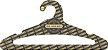 Promoção Comprou Ganhou: Cabide Personalizado com sua logo / Adulto Aberto / Preto H / CS105 -  Ganhe a Tag Natural 1000 unidades personalizado - Imagem 2