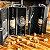 Porta Vinho duplo no Estojo + 4 peças - Imagem 1