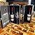 Porta Vinho individual no Estojo + 4 peças - Imagem 1