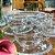 Conjunto 04 Xícaras de Chá Cristal de Chumbo Wolff Pearl 180ml - Imagem 3
