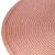 Lugar Americano de Plástico Fresno Espiral Rosa 38cm - Imagem 1