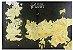 QUADRO CANVAS 70X50CM MAPA GOT - Imagem 1