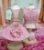 Vestido pelo rosa com colete - Imagem 2
