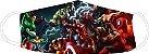 Kit com 3 Mascaras Infantis, Homem Aranha/vingadores/Max Steel - Imagem 4
