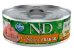 Lata N&d Gato Ad Natural Frango 80g - Imagem 1
