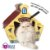 Cat House Cat My Pet Casinha Para Gatos - Imagem 1