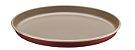 Tramontina Forma Pizza BR Vermelha/Bege 30cm - Imagem 1