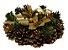 Fartex Castiçal Dourado C/ Pinheiro - Imagem 1