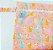Sacola Impermeável Gatinhos coloridos - Imagem 1