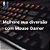 Mouse gamer x7 com fio e duplo clique - Imagem 2