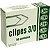 Clipe de Aço Galvanizado Acc Numero 3/0 Caixa Com 50 - Imagem 1