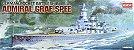 Academy - German Pocket Battleship Admiral Graf Spee - 1/350 - Imagem 1