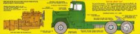 Mack R685ST Semi Tractor - 1/25 - Imagem 4