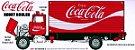 AMT - Ford Louisville Short Hauler 1970 (Coca-Cola) - 1/25 - Imagem 3