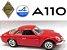 Burago - Renault Alpine A110 (sem caixa) - 1/24 - Imagem 1