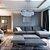 Lustre/Pendente de Cristal Legítimo LED Ingrid 36W 3000K Startec - Design Moderno Quarto/Sala Jantar - Imagem 3