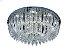 Plafon Sobrepor LED Redondo Cristal Ingrid 60cm 36W 6500K - Imagem 1