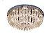 Plafon Sobrepor LED Redondo Cristal Ingrid 60cm 36W 3000K - Imagem 1