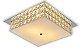 Plafon Sobrepor Quadrado Cristal Legítimo London Espelho 30cm 2xE27  - Startec - Imagem 1