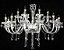 LUSTRE ALESSA CRISTAL CLEAR D71X55CM - 1052/8CL - Imagem 3