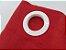 Cortina Rústica Longa - Vermelho - Ylos 3,00 x 2,60 - Imagem 2