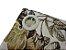 Cortina Rústica Longa - Floral Marrom - Ylos 3,00 x 2,60 - Imagem 3