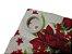 Cortina Rústica Longa - Floral Vermelho - Ylos 3,00 x 2,60 - Imagem 2
