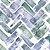 Papel de Parede Aqua Living AQ86606 - 0,53cm x 10m - Imagem 1