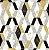 Papel de Parede Hexagone L638-02 - 0,53cm x 10m - Imagem 1