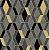 Papel de Parede Hexagone L638-09 - 0,53cm x 10m - Imagem 1
