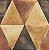 Papel de Parede Hexagone L62505 - 0,53cm x 10m - Imagem 1