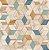 Papel de Parede Hexagone L593-01 - 0,53cm x 10m - Imagem 1