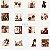 Papel de Parede Fab 138845 - 0,53cm x 10m - Imagem 1