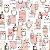 Papel de Parede Fab 138854 - 0,53cm x 10m - Imagem 1