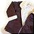 Casaco manga longa sobretudo marrom - Mini e Bambini 3 anos - Imagem 3