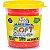 Massa P/modelar Soft Glitter 150g Vermelho 205 / Un / Acrilex - Imagem 1