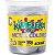 Slime Cores Metalico Kimeleka Acrilex Lavável Pote 180gr Prata - Imagem 1